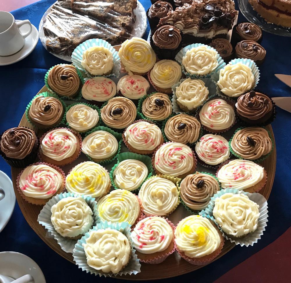 Betty Party - 1 cake - Ryhall Village Hall Rutland