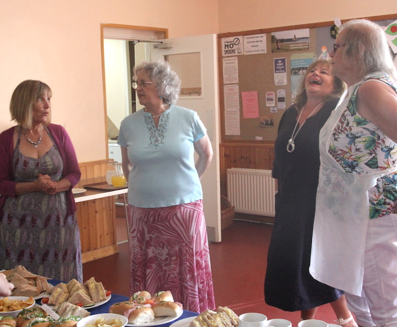 Betty Party - 14 helpers - Ryhall Village Hall Rutland