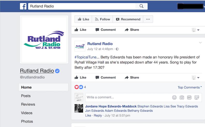 Betty Party - Rutland Radio - Ryhall Village Hall Rutland