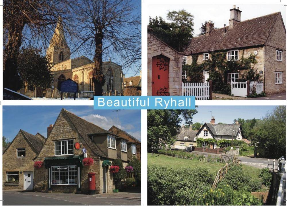 Ryhall's new postcard 2011