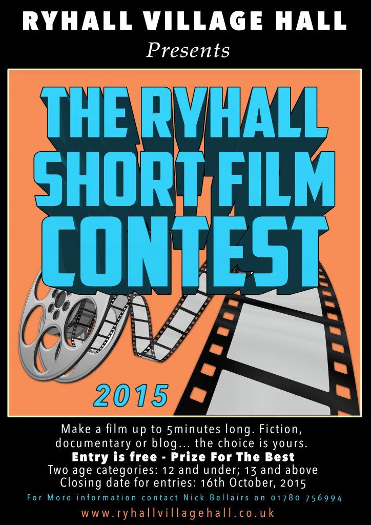 Ryhall Short Film Festival 2015 Poster