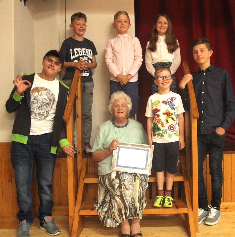 Betty Party - 15 grandchildren - Ryhall Village Hall Rutland