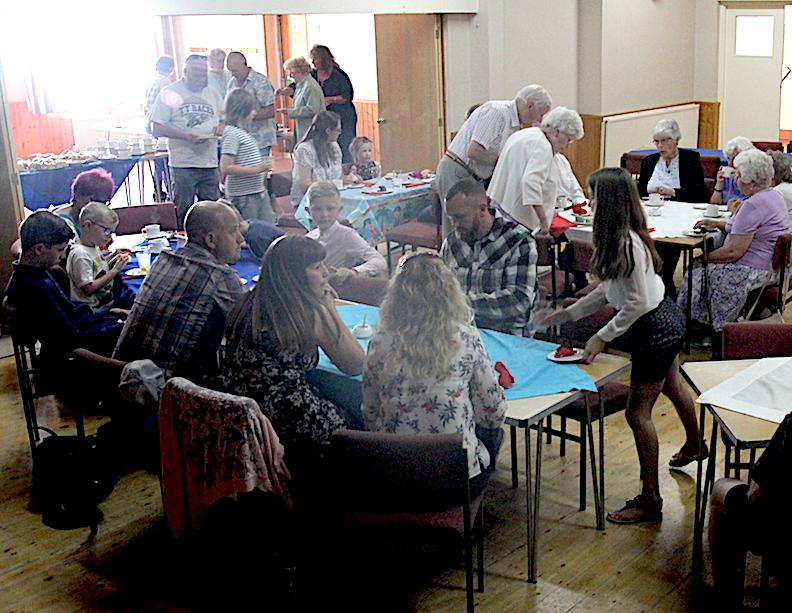 Betty Party - 3 hall - Ryhall Village Hall Rutland