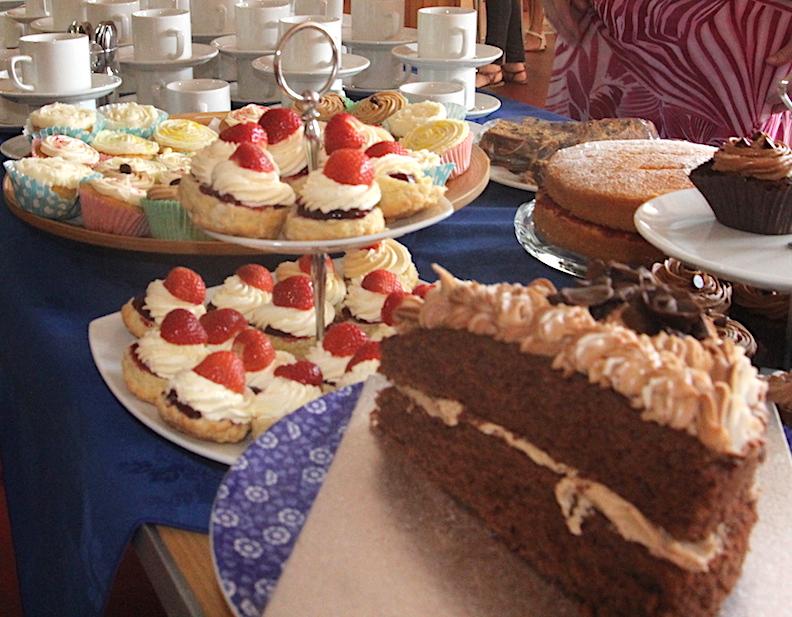 Betty Party - 6 cakes - Ryhall Village Hall Rutland