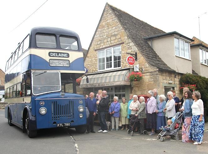 Delaine queue - Ryhall Village Hall