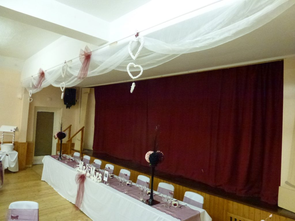 Ryhall Village Hall Wedding Reception Rutland 04