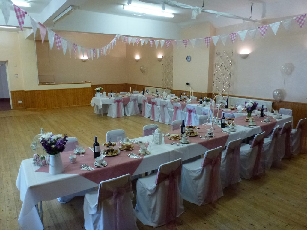 Ryhall Village Hall Wedding Reception Rutland 07